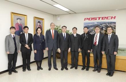 태국 출라롱콘 대학(Chulalongkorn University) 총장 일행 방문